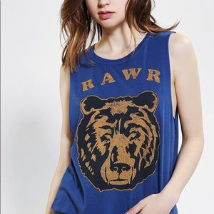 Urban Outfitters RAWR muscle tee